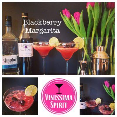 Blackberry Margarita met tequila en crème de mûre