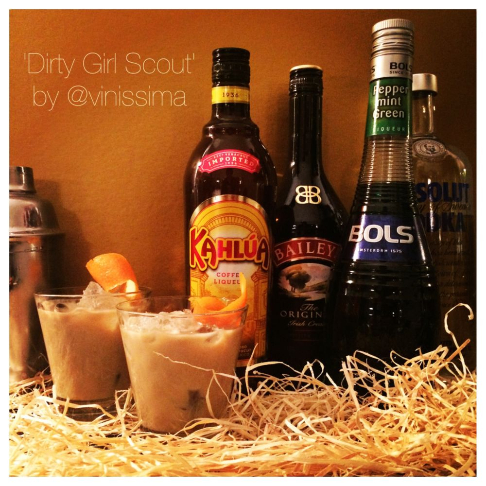 cocktail 'Dirty Girl Scout