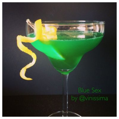 cocktails met meloenlikeur Midori