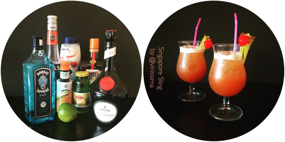 cocktailklassieker Singapore Sling