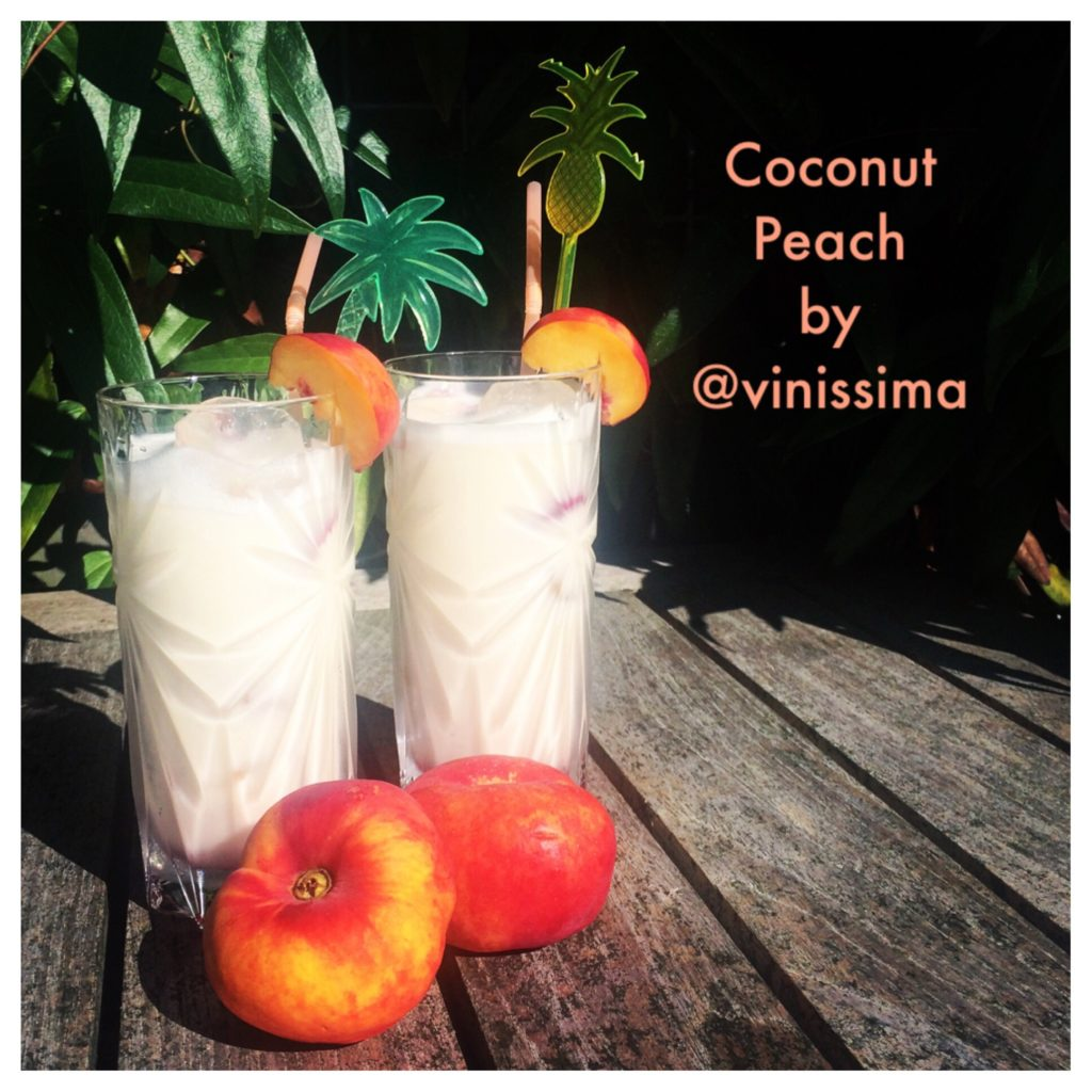 cocktail Coconut Peach
