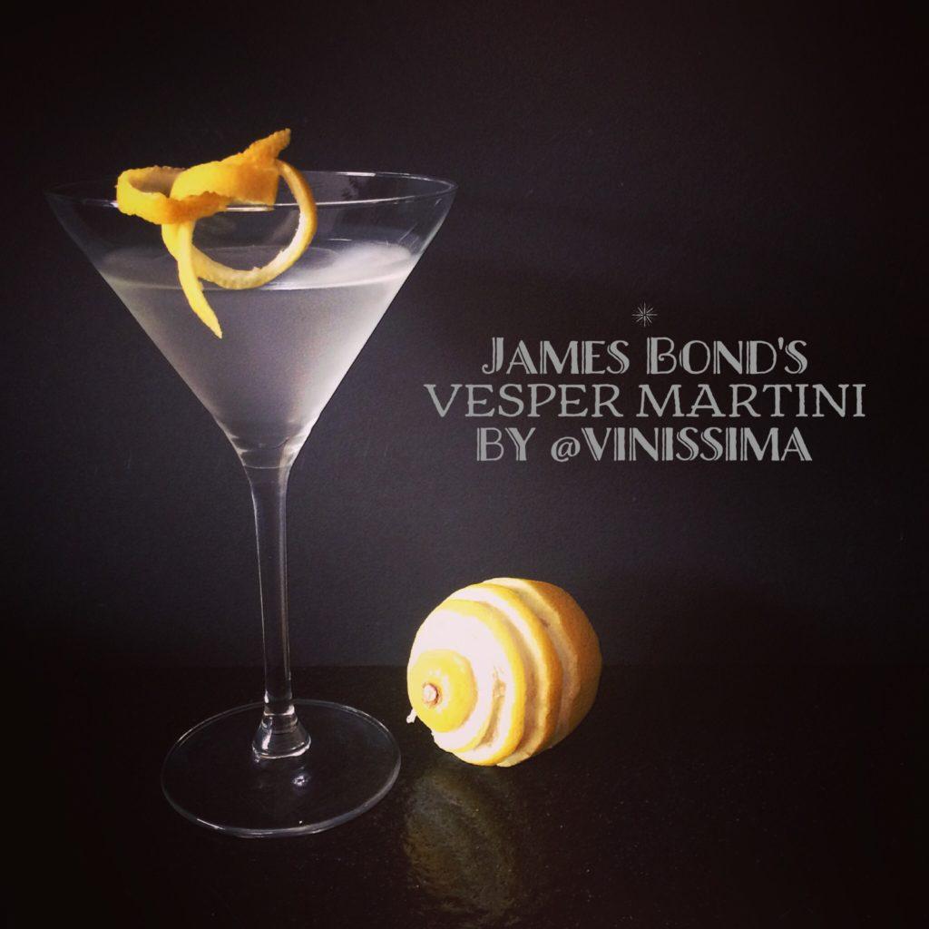 James Bond's Vesper Martini