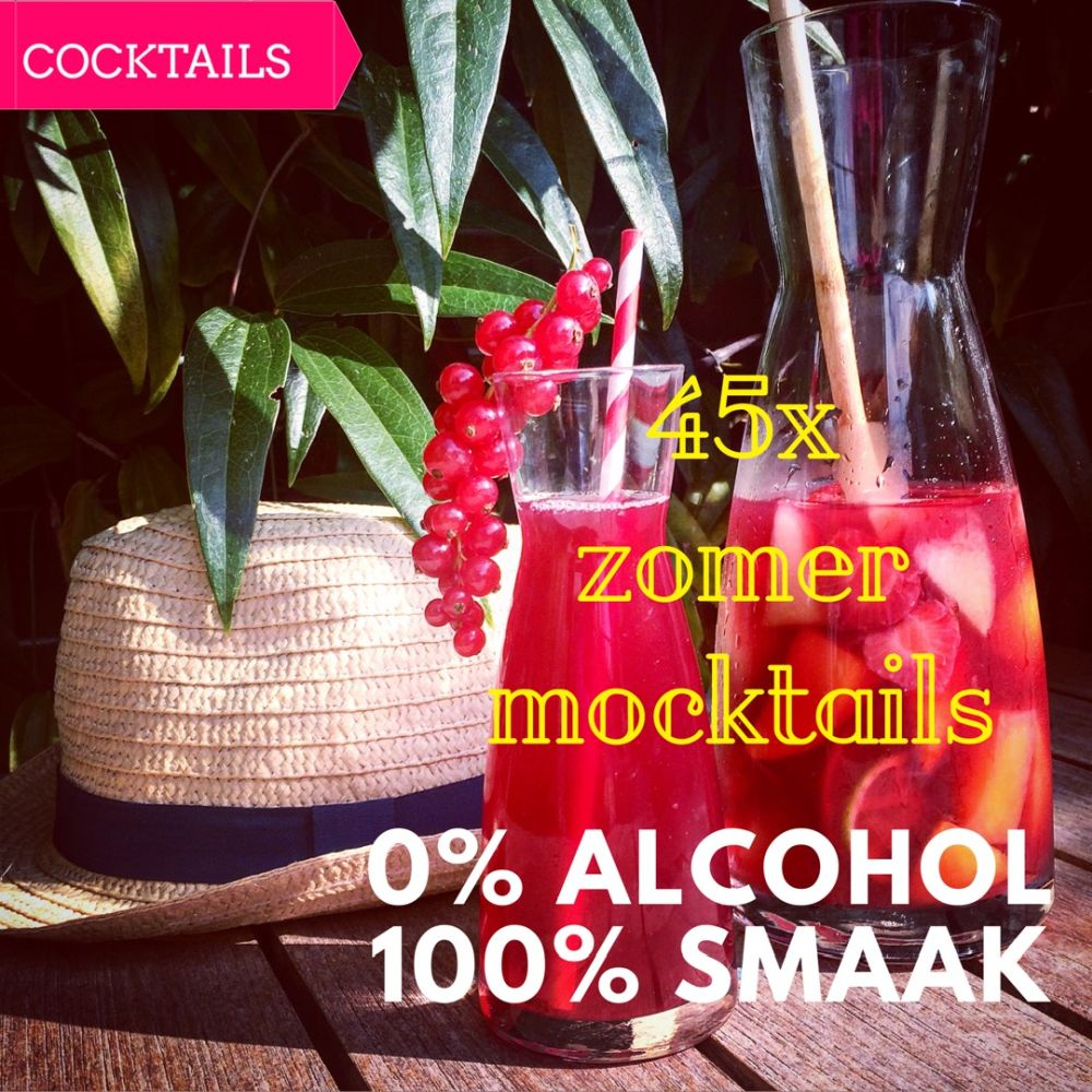 mocktails - 0% alcohol 100% smaak