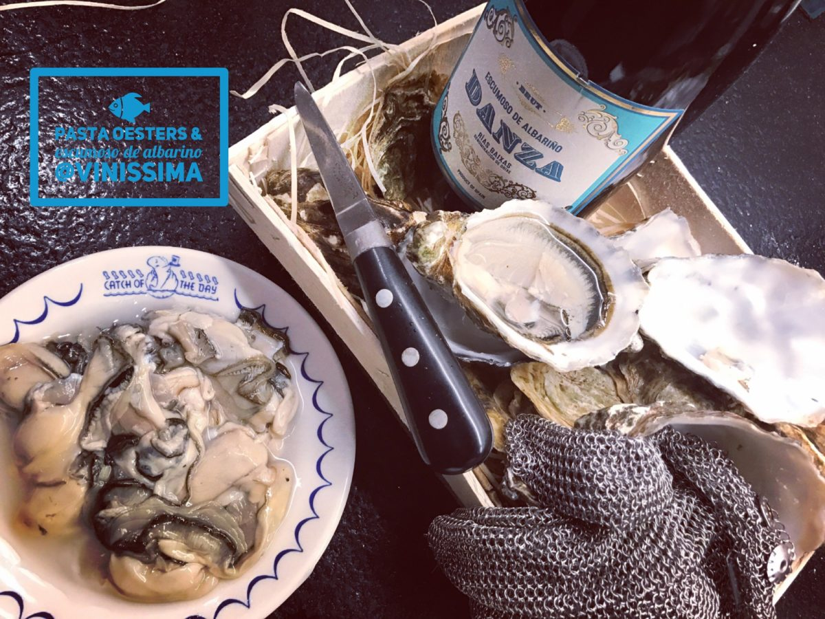 pasta met oesters