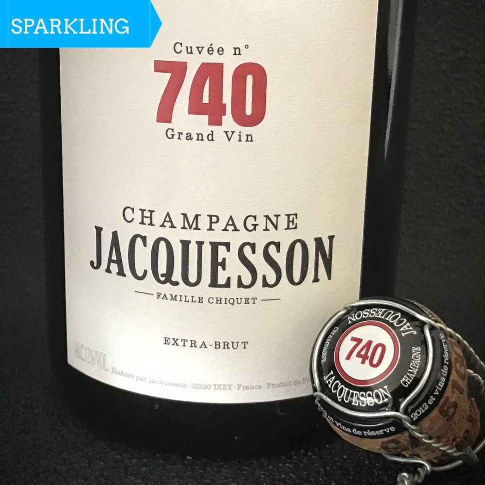 Jacquesson extra brut No. 740