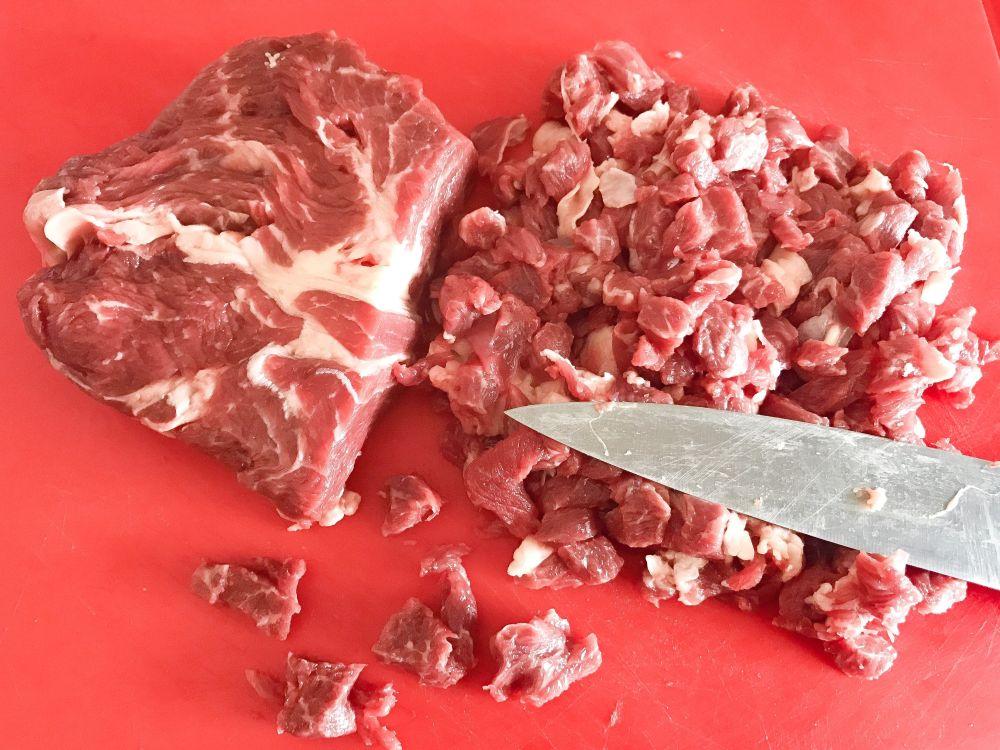 Tuco de carne Uruguay