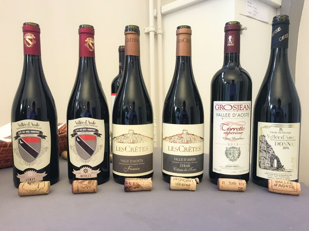 Valle d'Aosta wines