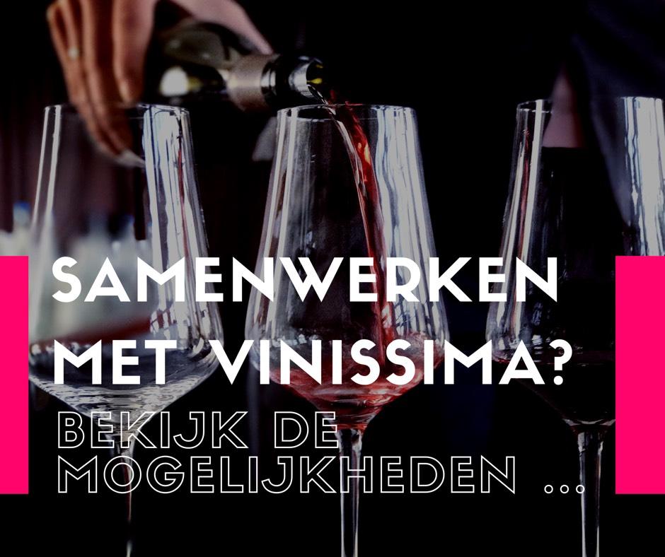 samenwerken met vinissima