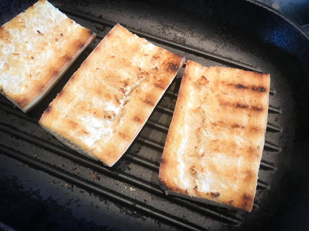 brood roosteren voor pan con tomate