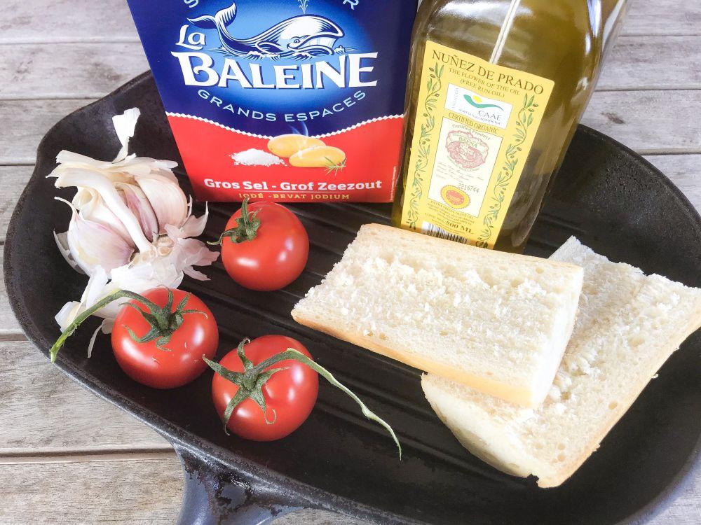ingrediënten pan con tomate