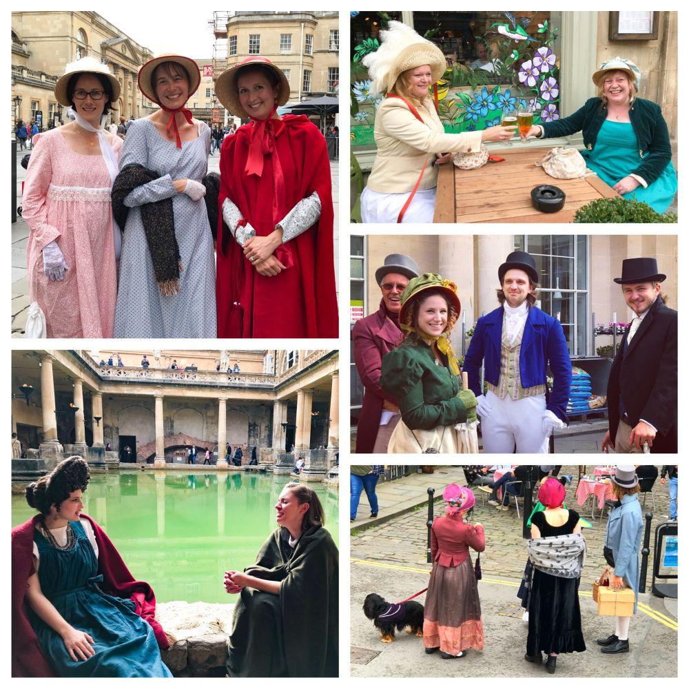 Jane Austen festival in Bath