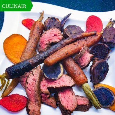 Foodblog Event - bavette met espresso-chipotle marinade