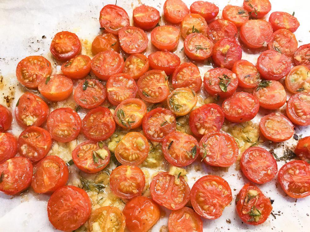 ovengedroogde tomaatjes