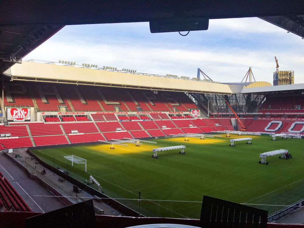 Philips-stadion vanaf Avant Garde