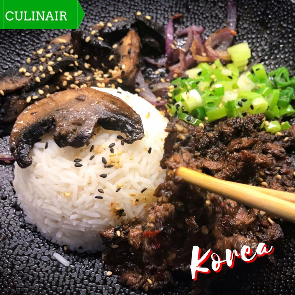 supersnelle Koreaanse bulgogi bowl met bavette