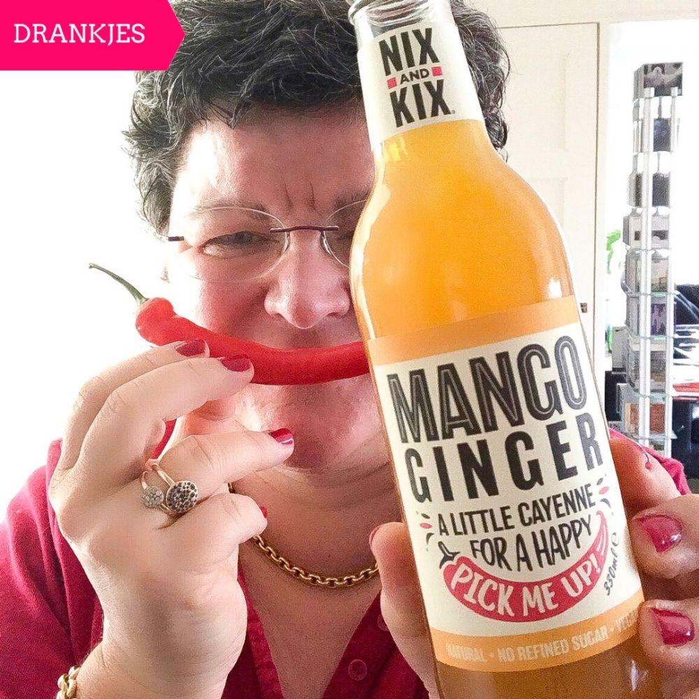 Nix and Kix mango ginger