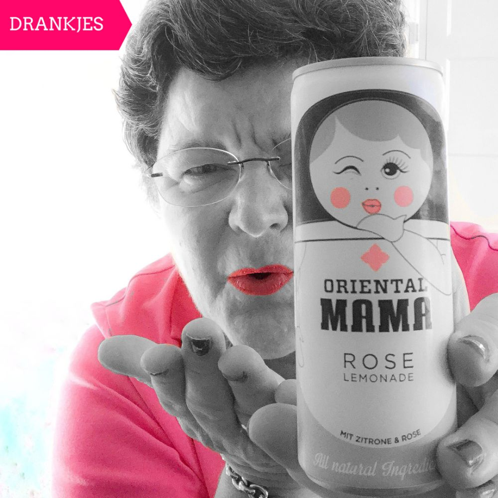 Oriental Mama rose lemonade