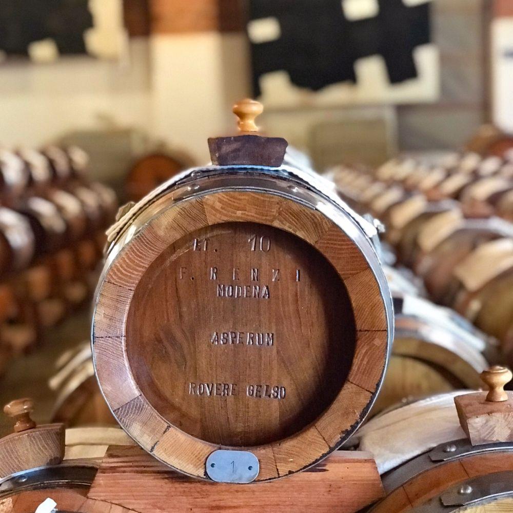 asperum IV in barrels