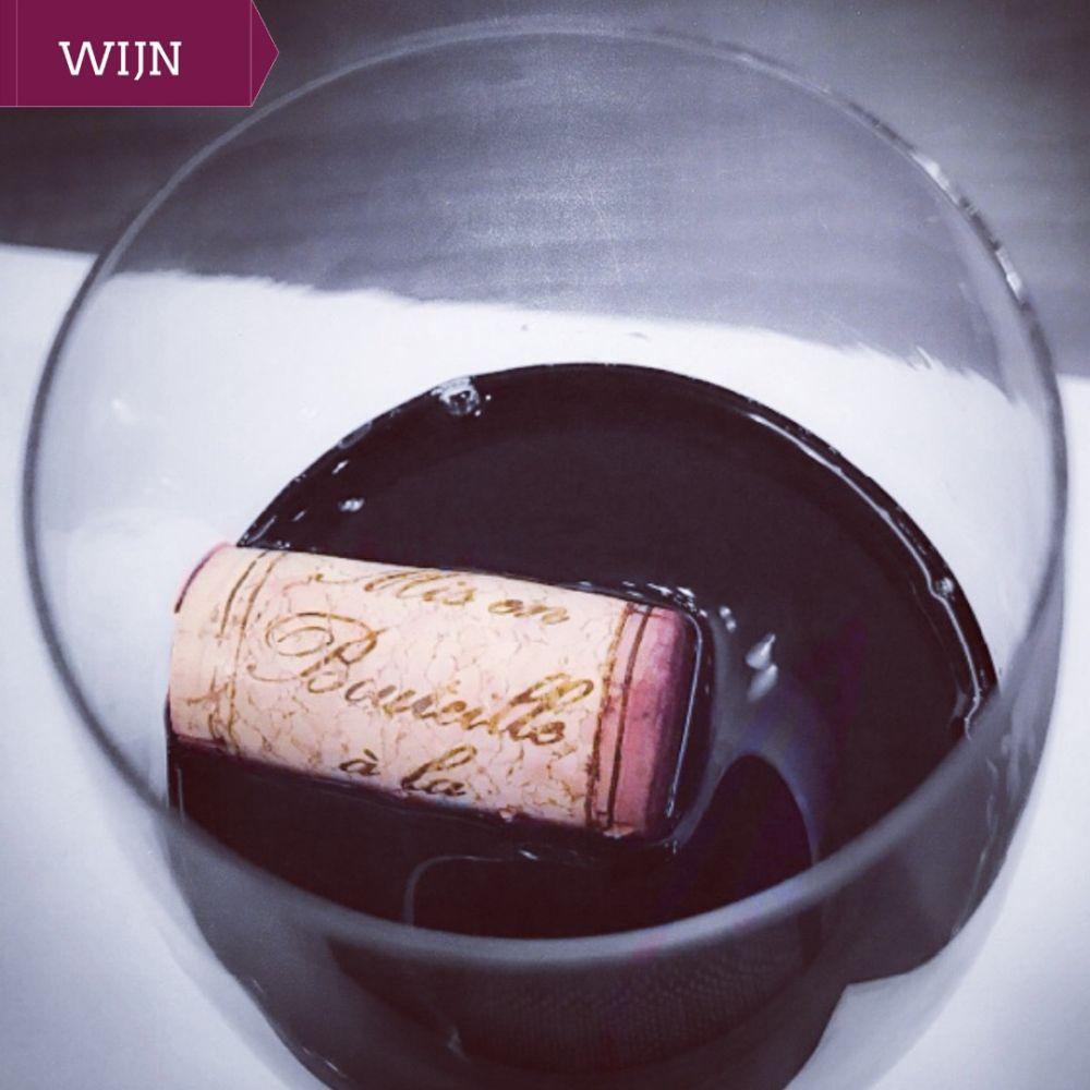 wijnweetje - wijn met kurk