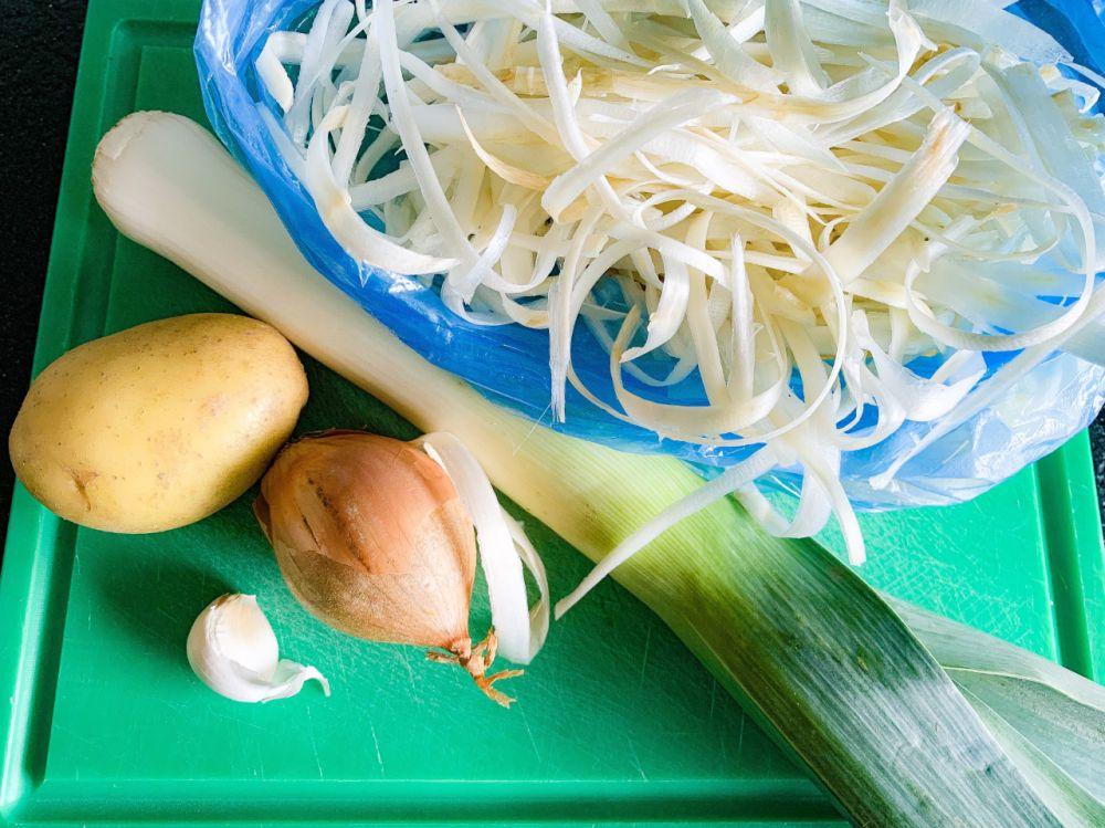 Spaanse aspergesoep met serranoham - ingrediënten
