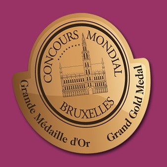 Concours Mondial de Bruxelles - Grand Gold
