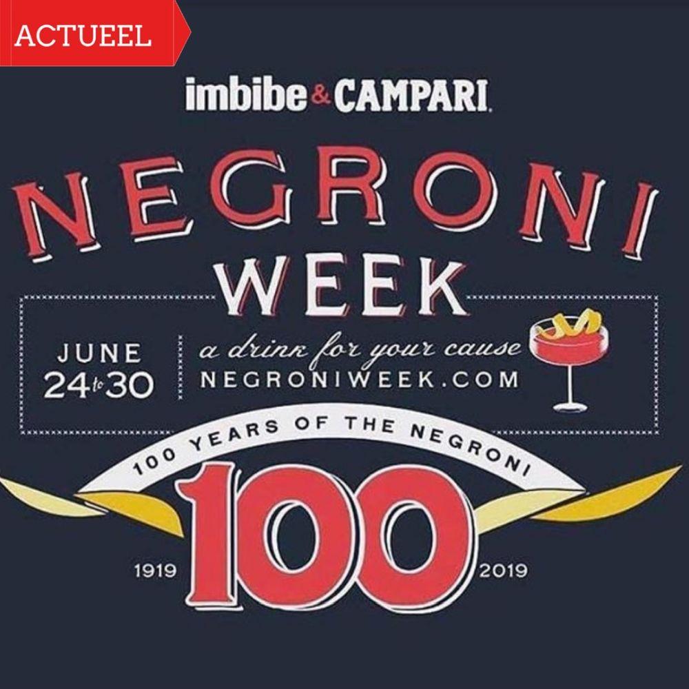 Negroni Week 2019 -Negroni 100 jaar