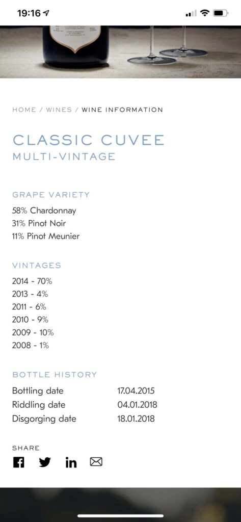 Nyetimber - Learn about your bottle