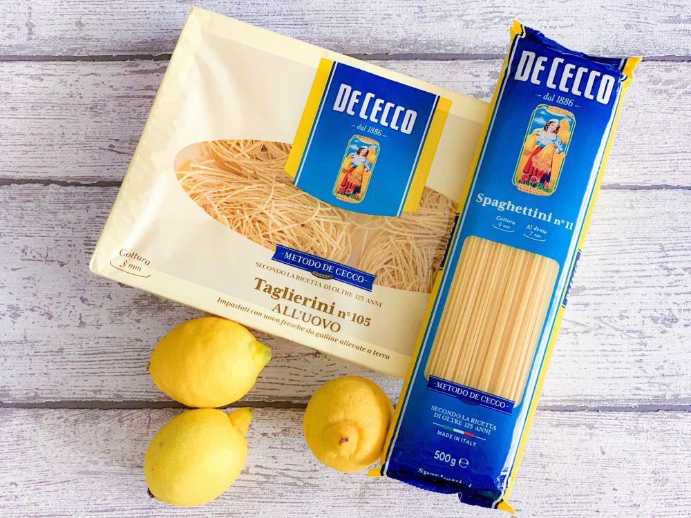 dunne pastasoorten