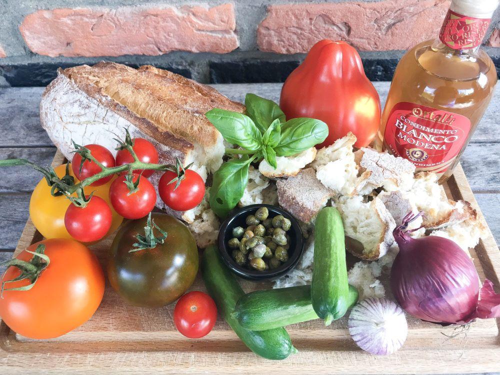 ingrediënten klassieke panzanella