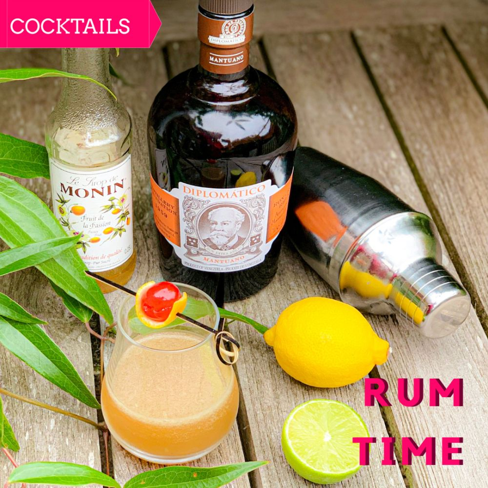 National rum Day - cocktail Gauguin