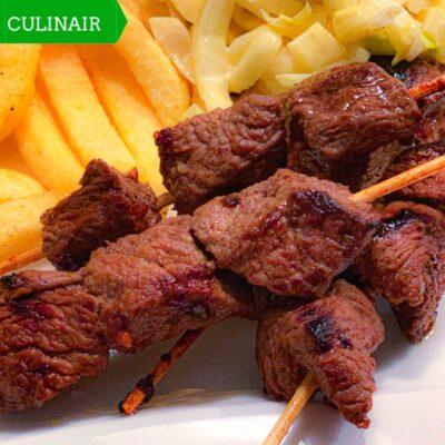 Snelle marinade voor heerlijke oosterse biefstukspiesjes