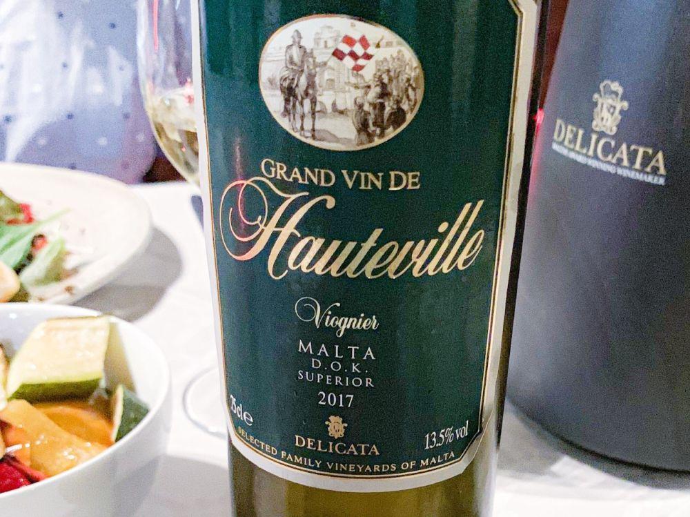 DOK Malta - Delicata - Gran Vin de Hauteville viognier