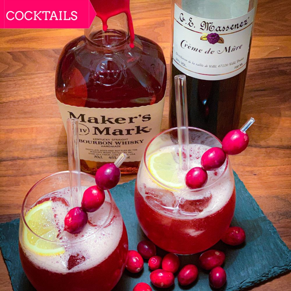 Cranberry & Bourbon