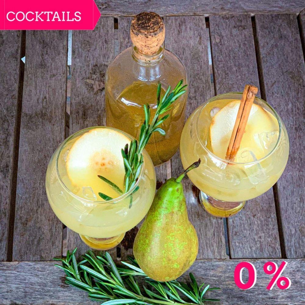 Mocktail - Peer-Rozemarijn Spritzer