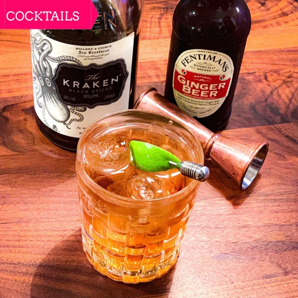 Wintercocktail Spicy Rum & Ginger