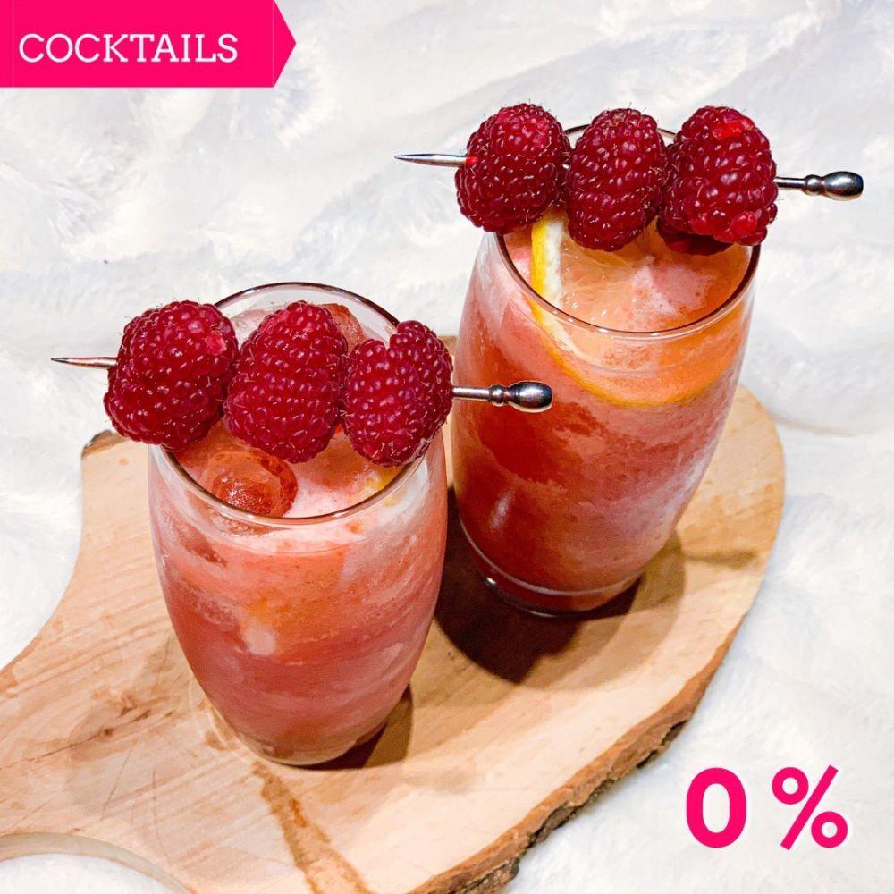 Mocktail - Sparkling Cranberry Raspberry