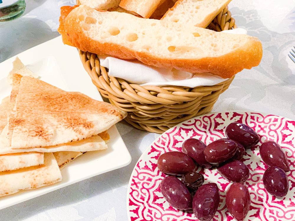Libanees platbrood en Turks brood