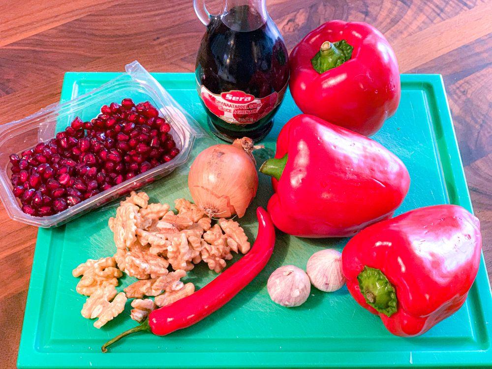ingrediënten muhammara