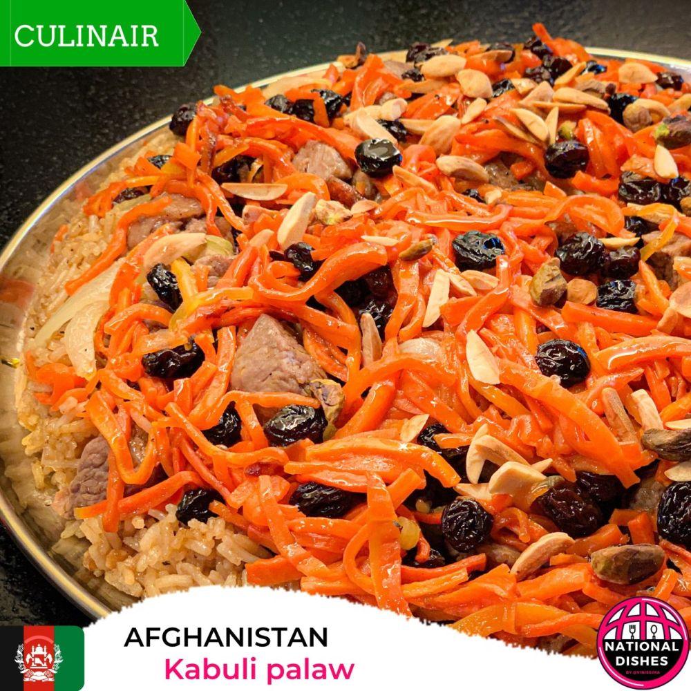 Afghanistan - Kabuli Palaw