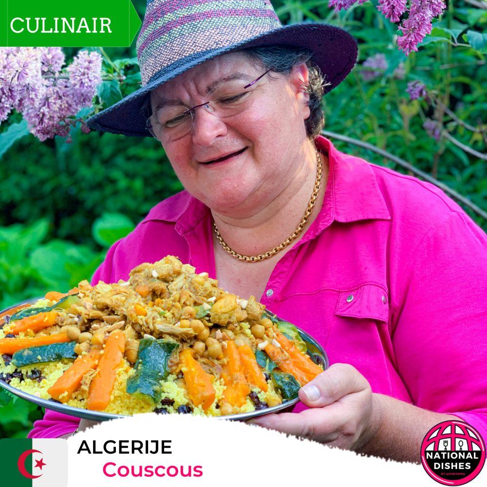 Algerije - nationaal gerecht couscous