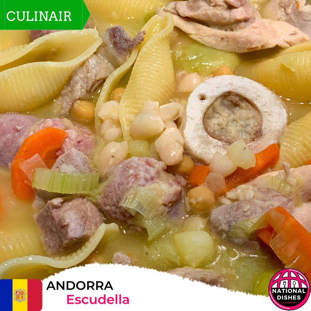 Andorra - nationaal gerecht escudella