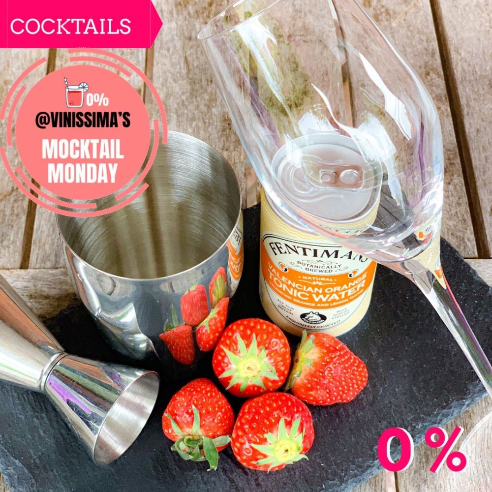 Mocktail Monday - Virgin Rossini