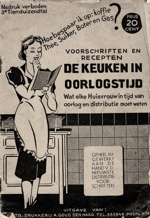 Voorschriften en recepten voor de keuken in oorlogstijd