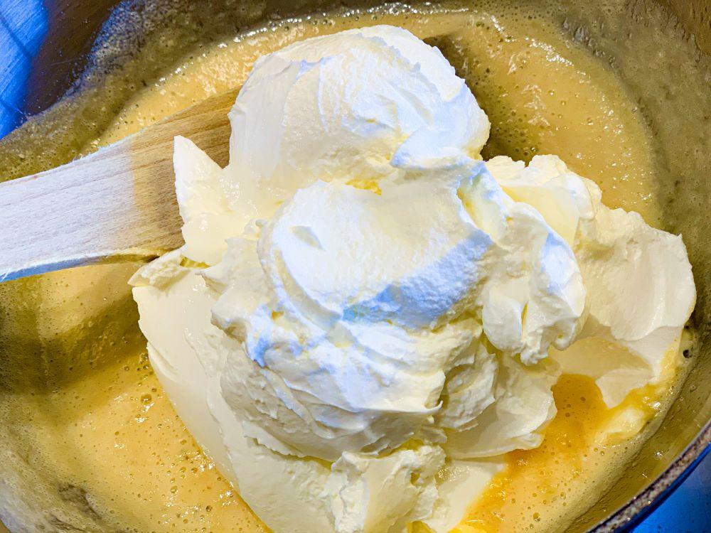 roux met yoghurt
