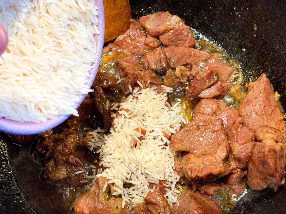 tavë kosi - lam en rijst