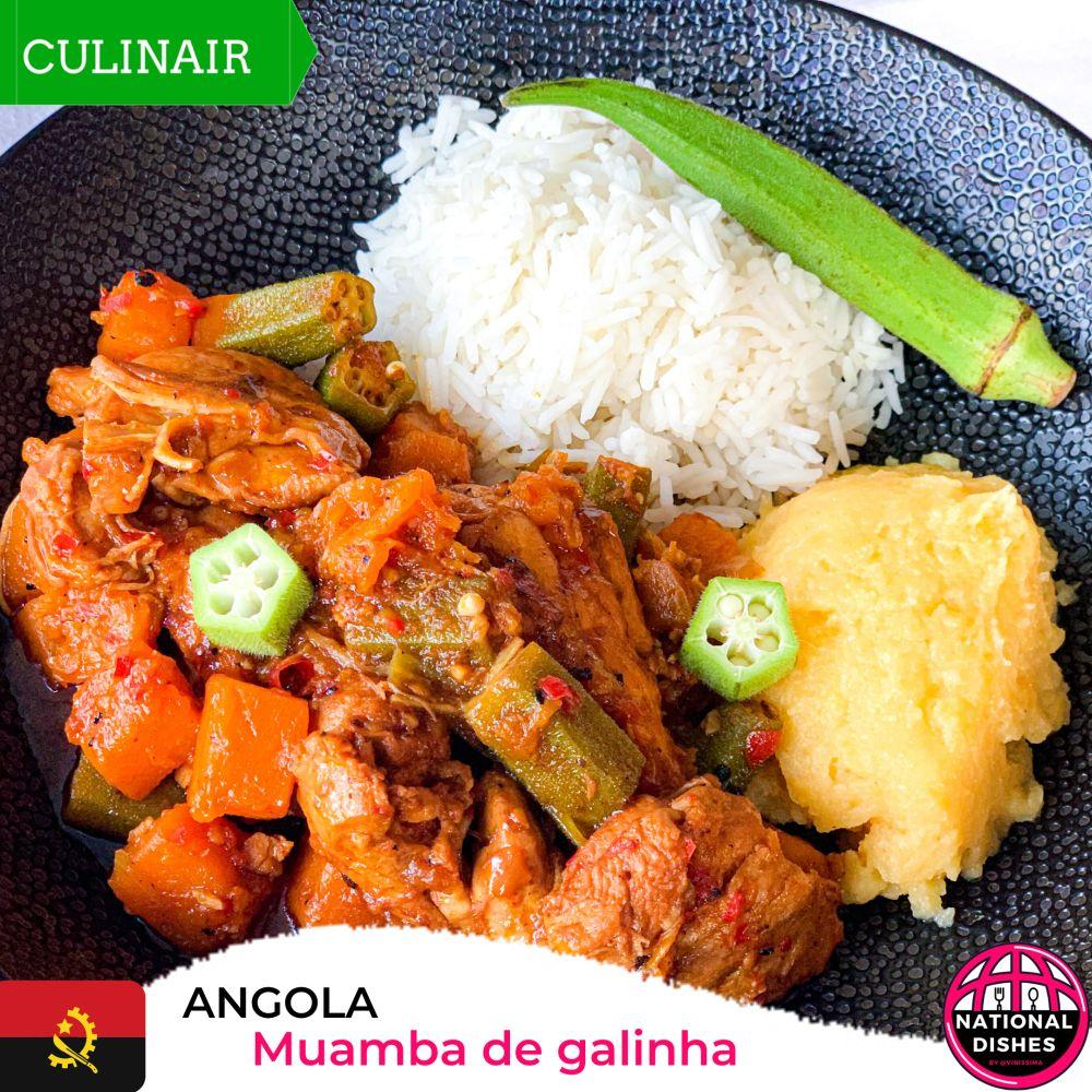 Angola - nationaal gerecht - muamba de galinha