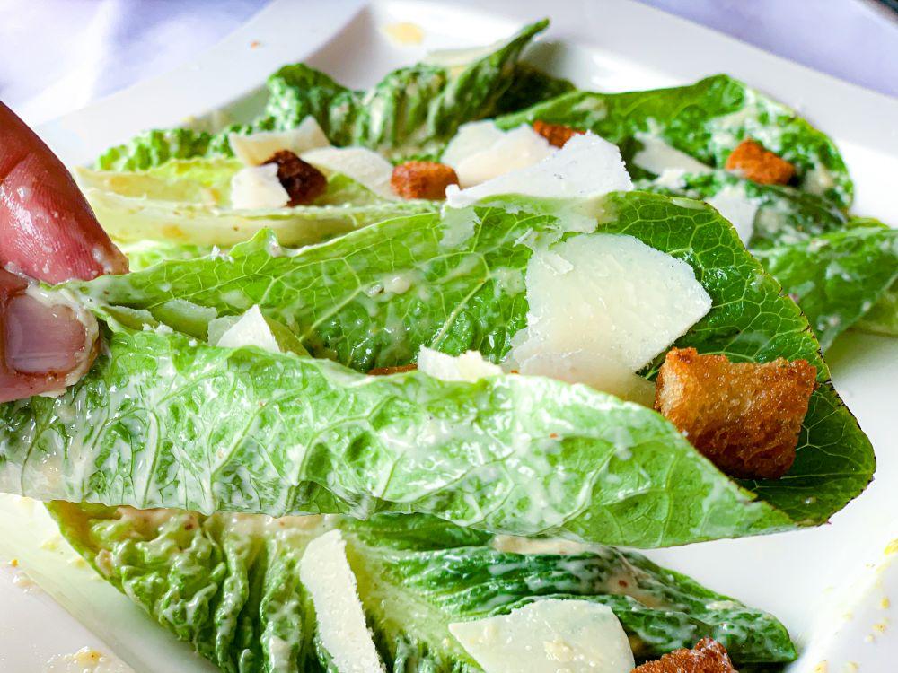 Caesar Salad happen uit de hand
