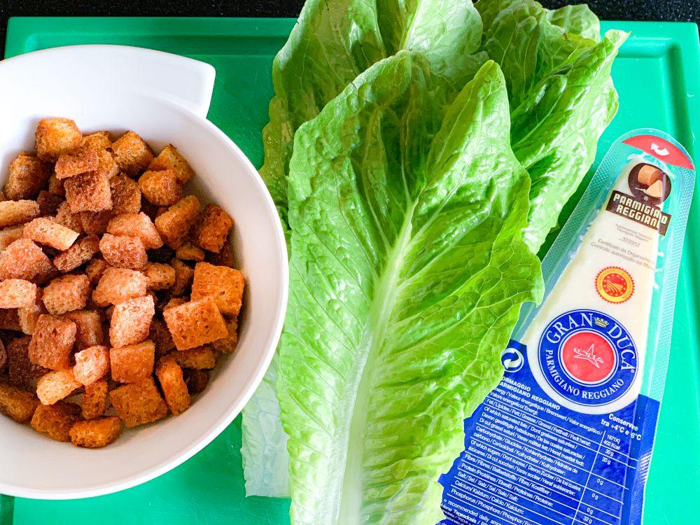 Ceasar Salad - geboren uit nood