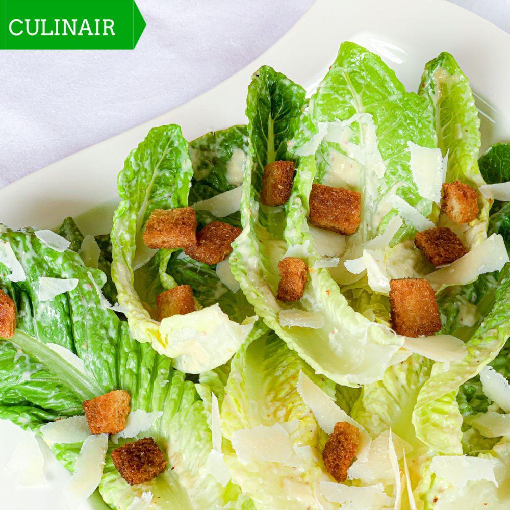 De originele Caesar Salad van Caesar Cardini