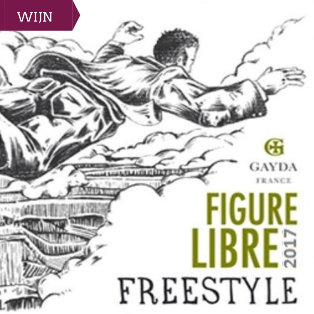 Figure Libre Freestyle blanc - Domaine Gayda